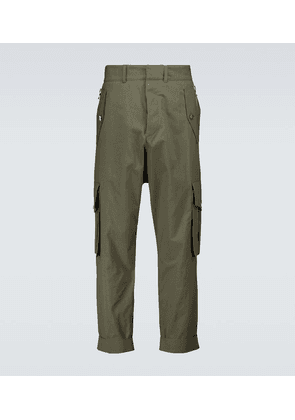 Slouchy cotton cargo pants