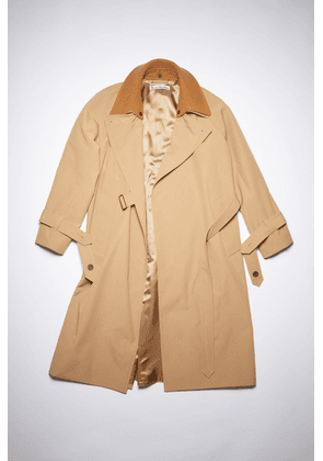 Acne Studios FN-WN-OUTW000484 Camel brown  Lined trench coat