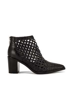 PAIGE Lilah Bootie in Black. Size 6.