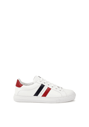 Moncler Ariel White Leather Sneakers