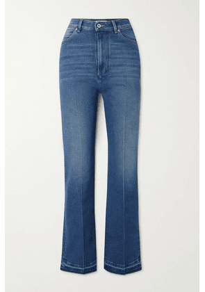Valentino - High-rise Bootcut Jeans - Blue