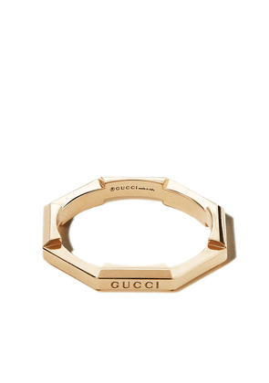 Gucci 18kt yellow gold Link to Love ring
