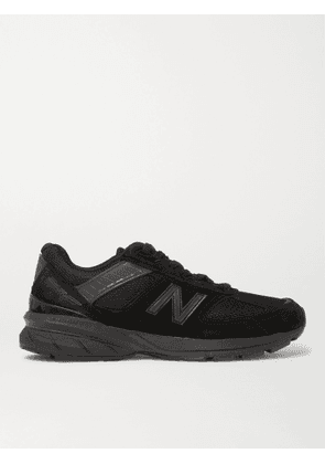 New Balance - M990v5 Rubber-Trimmed Suede and Mesh Sneakers - Men - Black - UK 7