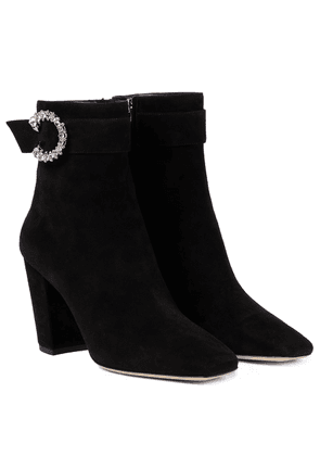Myan 85 suede ankle boots