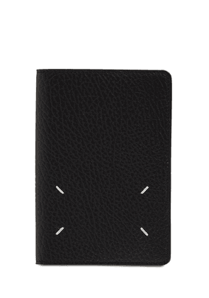 Grained Leather Passport Cover