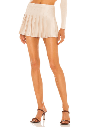 Aya Muse Opal Skirt in Beige. Size L, M, S.