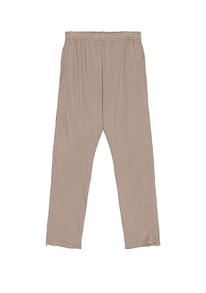 Les Tien Lounge Pant in Dove - Grey. Size L (also in M, S, XL/1X).