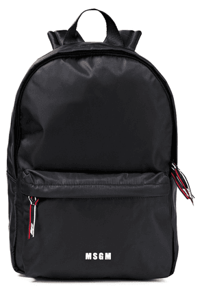 Msgm Shell Backpack Woman Black Size --