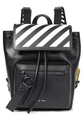 Off-white™ Textured-leather Backpack Woman Black Size --