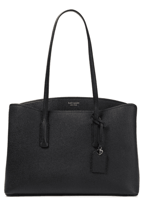 Kate Spade New York Margaux Large Pebbled-leather Tote Woman Black Size --