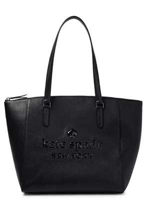 Kate Spade New York Pebbled-leather Tote Woman Black Size --
