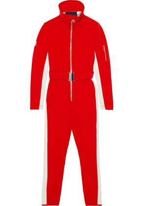 Cordova Belted Twill Ski Suit Woman Red Size L