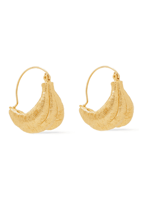 Rejina Pyo Hammered 24-karat Gold-plated Earrings Woman Gold Size --