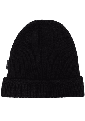 TOM FORD ribbed-knit cashmere beanie - Black