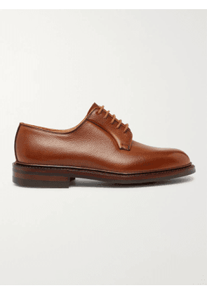 George Cleverley - Archie Full-Grain Leather Derby Shoes - Men - Brown - UK 7
