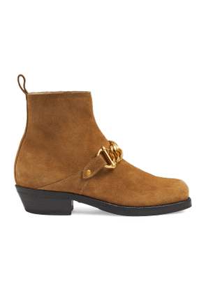 Women's ankle boot with chain