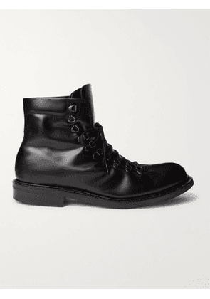 Mr P. - Heath Shearling-Lined Goodyear-Welted Leather Boots - Men - Black - UK 7