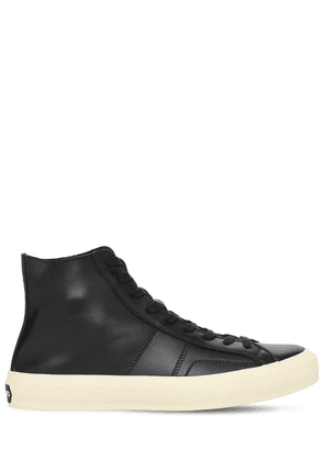Cambridge Leather High Top Sneakers
