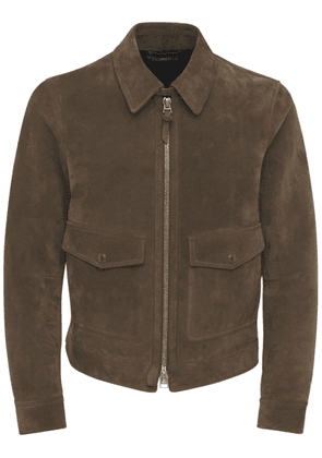Buttery Suede Shirt Jacket