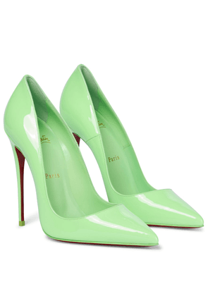 So Kate 120 patent leather pumps