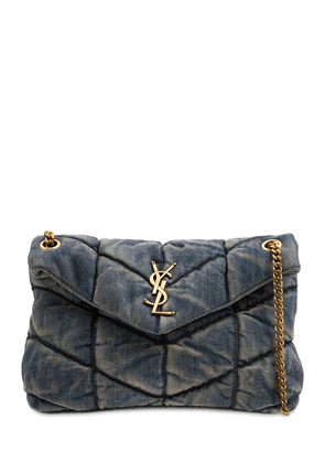 Small Puffer Loulou Chain Shoulder Bag