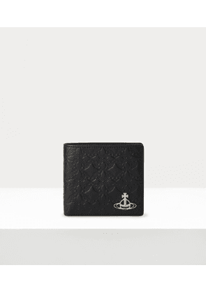 George Man Wallet With Coin Pocket Black