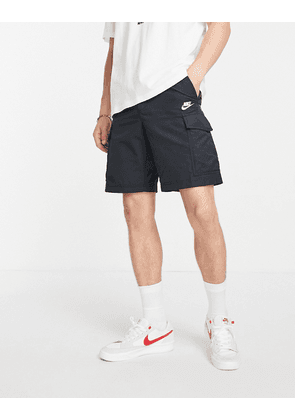 Nike woven utility shorts in black