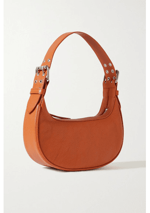 BY FAR - Soho Textured-leather Shoulder Bag - Tan
