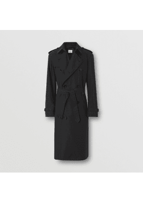Burberry Check Cotton Trench Coat