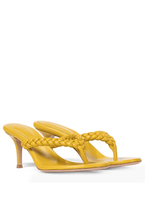 Tropea 70 leather thong sandals