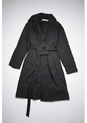 Acne Studios FN-WN-OUTW000517 Black  Belted padded coat