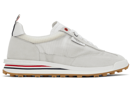 Thom Browne White Ripstop Tech Runner Sneakers