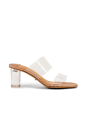 Tony Bianco Sabelle Sandal in Nude. Size 6.5.
