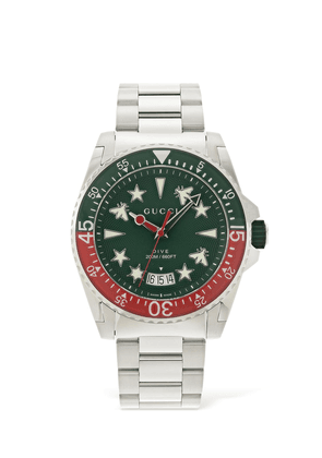 45mm Gucci Dive Xl Watch W/ Rubber