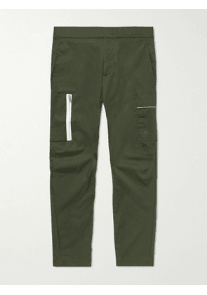 Nike - Sportwear Style Essentials Tapered Cropped Cotton-Blend Trousers - Men - Green - UK/US 28