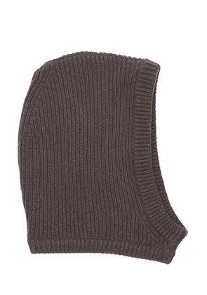 Recycled Cashmere Knit Hood