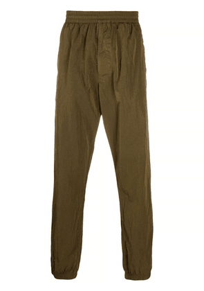 Givenchy embroidered 4G-motif trousers - Green