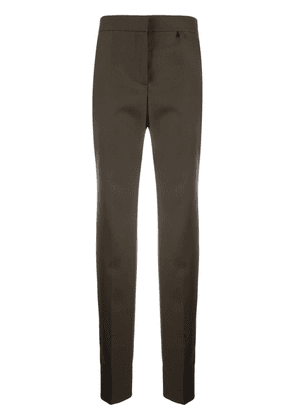 Givenchy slim-cut high-waisted trousers - Green