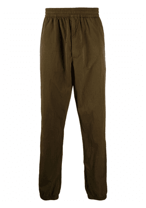 Givenchy garment dyed track pants - Green