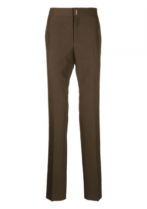 Givenchy slim-cut trousers - Green