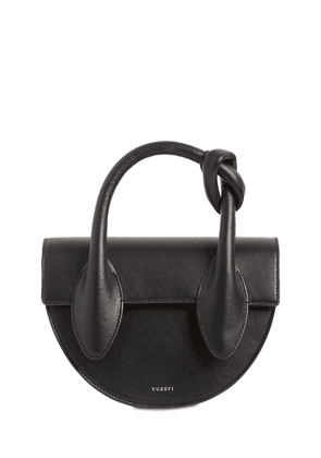 Dolores Leather Top Handle Bag