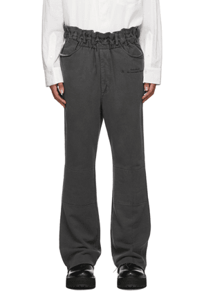 BED J.W. FORD Grey Relaxed Lounge Pants