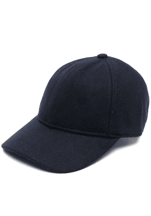 Barbour Coopworth knitted baseball cap - Blue