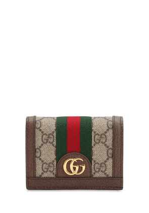 Ophidia Gg Supreme Compact Wallet