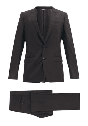 Dolce & Gabbana - Martini-fit Virgin-wool Twill Two-piece Suit - Mens - Black