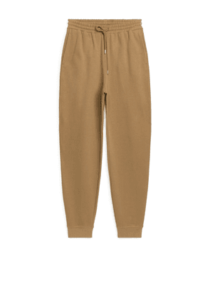 French Terry Sweatpants - Beige