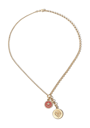 Foundrae 18kt yellow gold Strength chain necklace
