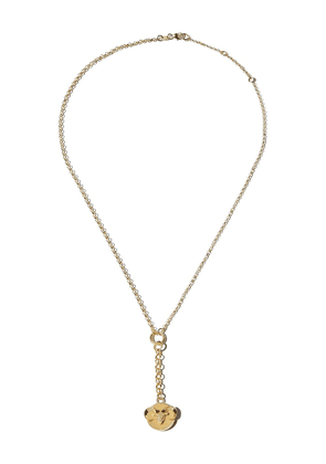 Foundrae 18kt yellow gold Aries chain necklace