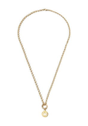 Foundrae 18K yellow gold Cancer charm