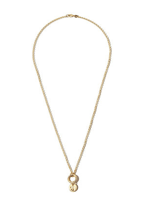 Foundrae 18K yellow gold Protection mini charm